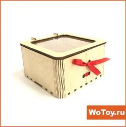Коробочка из фанеры подарочная