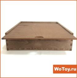 Ящик из фанеры под подарки