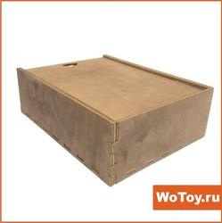 Шкатулка деревянная для подарков окрашенная